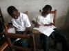 8th Graders at UCA Preparing for Exam